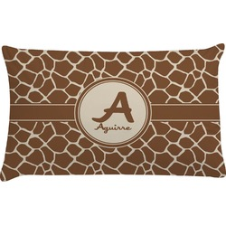 Giraffe Print Pillow Case (Personalized)