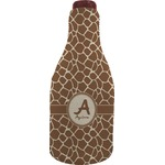 Giraffe Print Wine Sleeve (Personalized)