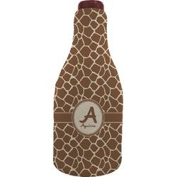 Giraffe Print Wine Sleeve (Personalized)