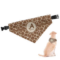 Giraffe Print Dog Bandana (Personalized)