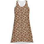 Giraffe Print Racerback Dress (Personalized)