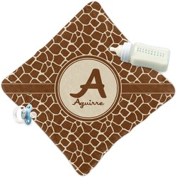 Giraffe Print Security Blanket (Personalized)
