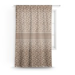 Giraffe Print Sheer Curtains (Personalized)