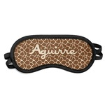 Giraffe Print Sleeping Eye Mask (Personalized)