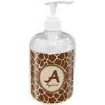 Giraffe Print Soap / Lotion Dispenser (Personalized)