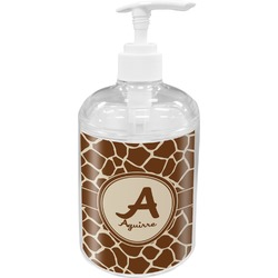 Giraffe Print Soap / Lotion Dispenser (Personalized)