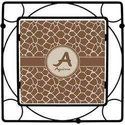 Giraffe Print Square Trivet (Personalized)