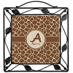 Giraffe Print Trivet (Personalized)