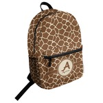 Giraffe Print Student Backpack (Personalized)