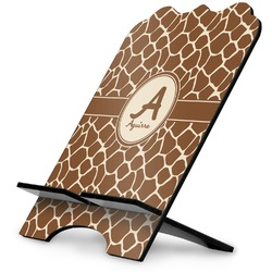 Giraffe Print Stylized Tablet Stand (Personalized)