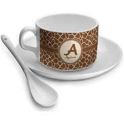 Giraffe Print Tea Cups (Personalized)