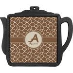 Giraffe Print Teapot Trivet (Personalized)
