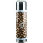Giraffe Print Stainless Steel Thermos (Personalized)