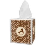 Giraffe Print Tissue Box Cover (Personalized)