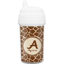 Giraffe Print Toddler Sippy Cup (Personalized)