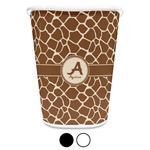 Giraffe Print Waste Basket (Personalized)