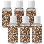 Giraffe Print Travel Bottles (Personalized)