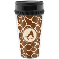 Giraffe Print Travel Mug (Personalized)