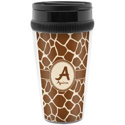 Giraffe Print Travel Mugs (Personalized)