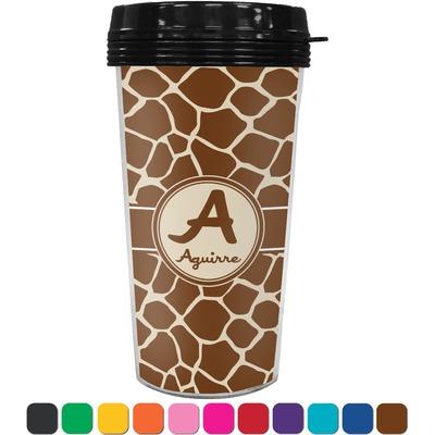 Giraffe Print Travel Mug