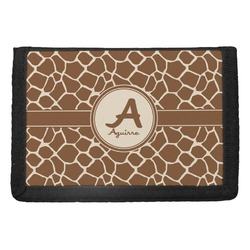 Giraffe Print Trifold Wallet (Personalized)