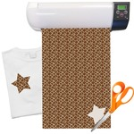 Giraffe Print Heat Transfer Vinyl Sheet (12