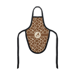 Giraffe Print Bottle Apron (Personalized)