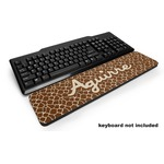 Giraffe Print Keyboard Wrist Rest (Personalized)