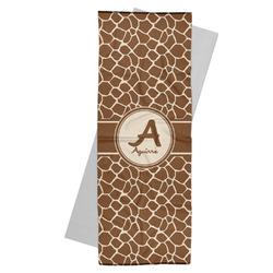 Giraffe Print Yoga Mat Towel (Personalized)