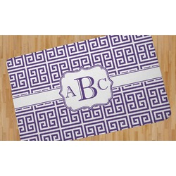Greek Key Area Rug (Personalized)