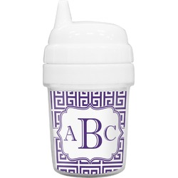 Greek Key Baby Sippy Cup (Personalized)