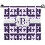 Greek Key Bath Towel (Personalized)