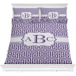 Greek Key Comforters (Personalized)