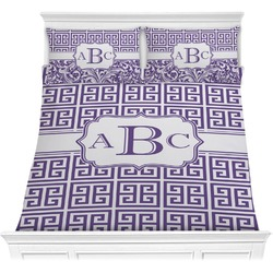 Greek Key Comforters (Personalized)