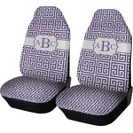 Greek Key Car Seat Covers (Set of Two) (Personalized)