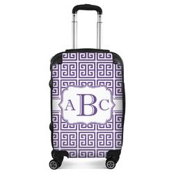 Greek Key Suitcase (Personalized)