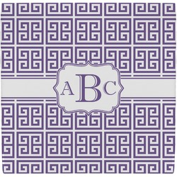Greek Key Ceramic Tile Hot Pad (Personalized)