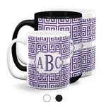 Greek Key Coffee Mugs (Personalized)