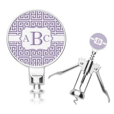 Greek Key Corkscrew (Personalized)
