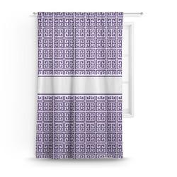 Greek Key Curtain (Personalized)