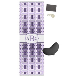 Greek Key Yoga Mat (Personalized)