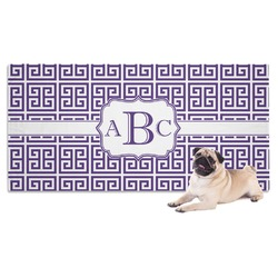 Greek Key Dog Towel (Personalized)
