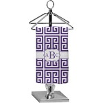 Greek Key Finger Tip Towel - Full Print (Personalized)