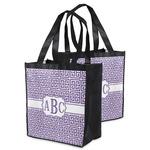 Greek Key Grocery Bag (Personalized)