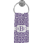 Greek Key Hand Towel - Full Print (Personalized)