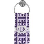Greek Key Hand Towel - Full Print (Personalized)