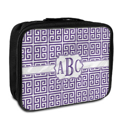 Greek Key Insulated Lunch Bag (Personalized)