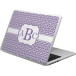 Greek Key Laptop Skin - Custom Sized (Personalized)