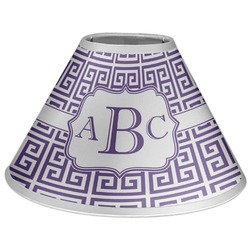 Greek Key Coolie Lamp Shade (Personalized)