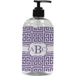 Greek Key Plastic Soap / Lotion Dispenser (Personalized)